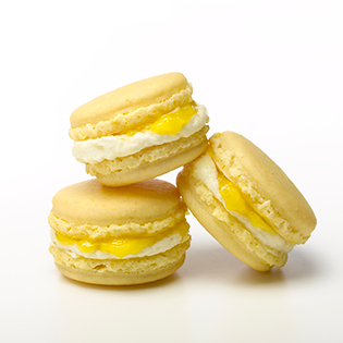 Lemon Poeme macarons