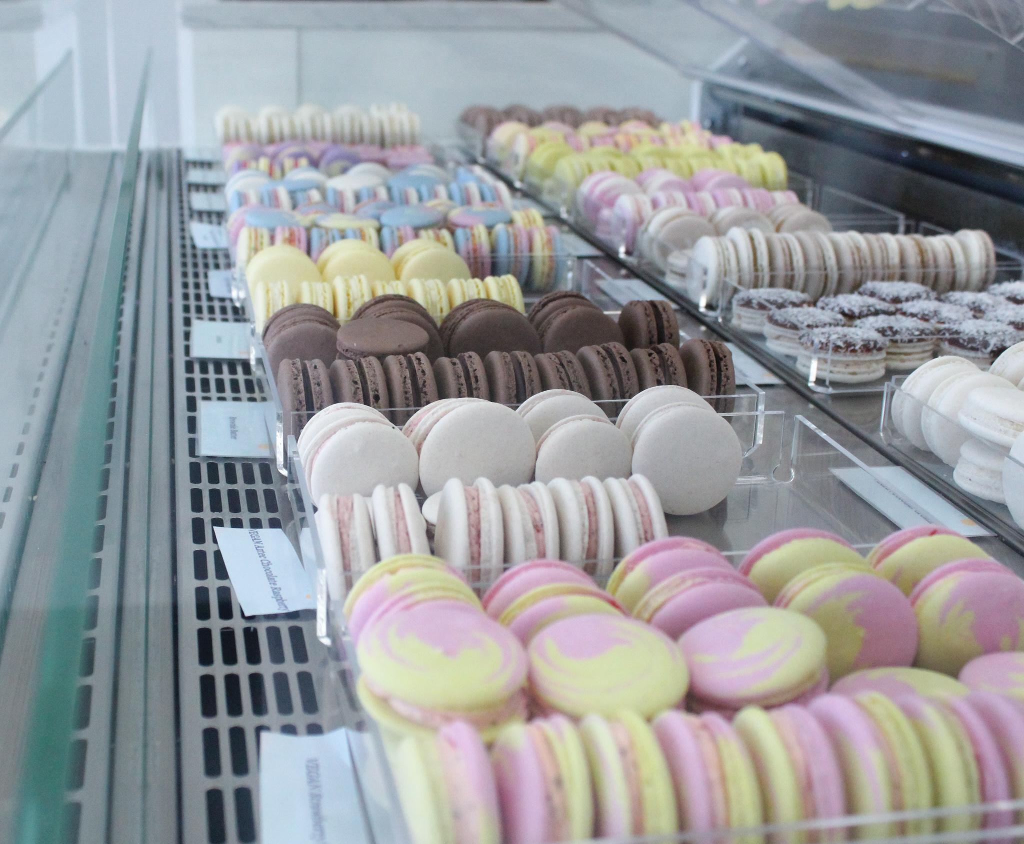 Rotating VEGAN Macaron flavors!